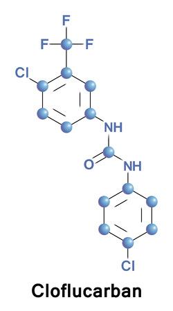 Cloflucarban