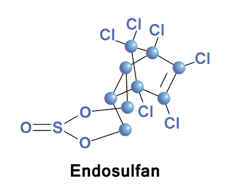 Endosulfan is an off-patent organochlorine insecticide and acaricide that is being phased out globally