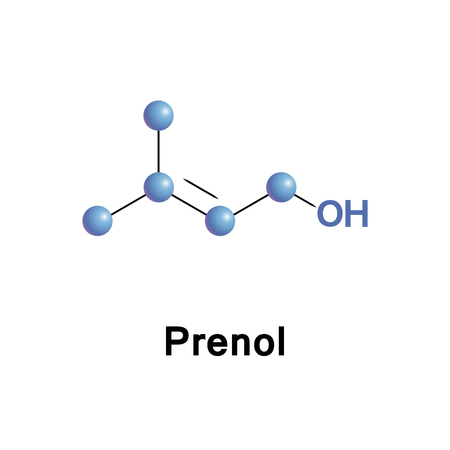 Prenol, or 3-methyl-2-buten-1-ol, is a natural alcohol. It is one of the most simple terpenoids