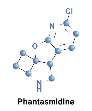 Phantasmidine is a toxic substance derived from the Ecuadorian poisonous frog Anthonys poison arrow frog