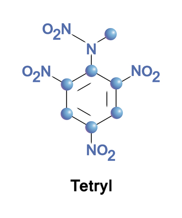 Trinitrophenylmethylnitramine commonly referred to as tetryl is an explosive compound used to make detonators and explosive booster charges