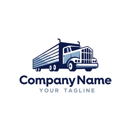 Trucking Transportation Logo Template