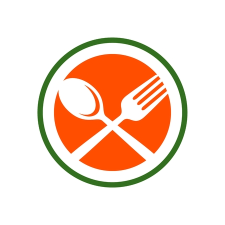 Restaurant Spoon and Fork Simple Line Icon
