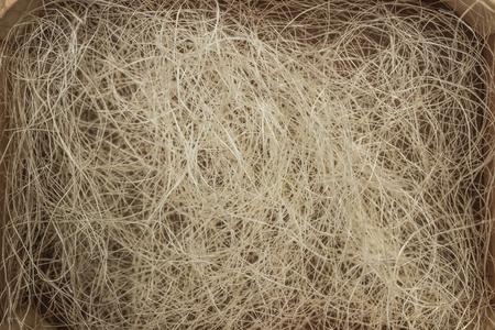 sisal: sisal cords background