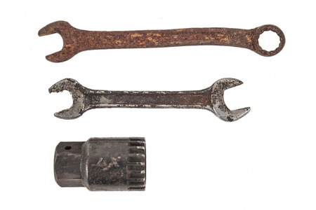 old wrench 写真素材
