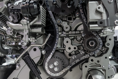 Timing timing gears and chains
