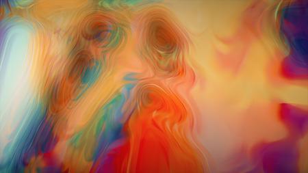 Pastel colors as natural Luxury. Water surface effect. Aquarelle beautiful pattern Banco de Imagens - 104369990