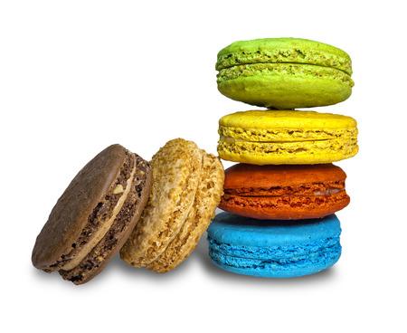 colorful cookie macaroon