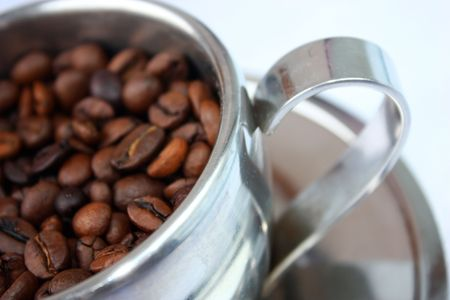 fresh coffee, a cup of coffee, fresh and fragrant coffee, a real taste of coffee photo