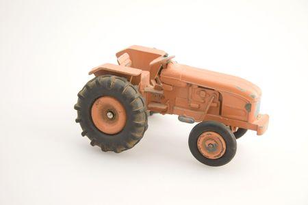 Old orange tractor Stock Photo - 807685