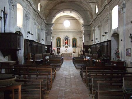 In the Ancient Catholic cathedral photo