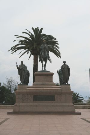 napoleon: Corsican Statue of Napoleon