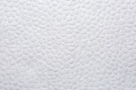 Texture of white tissue paper. Background paper napkin. Close up