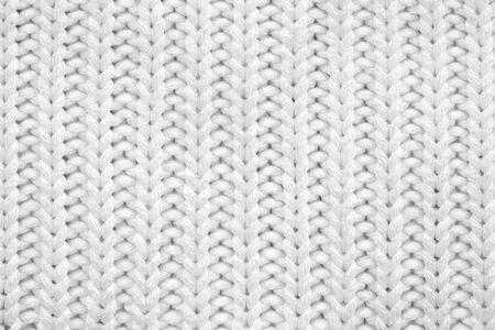 Texture tricotée blanche Banque d'images