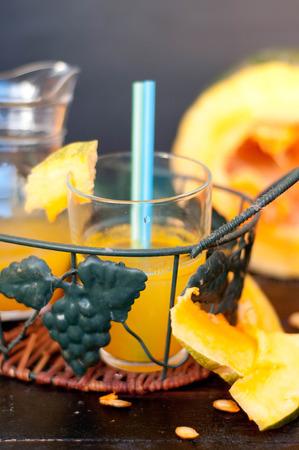 beneficial: pumpkin juice, beneficial vitamins juice, pumpkin, autumn