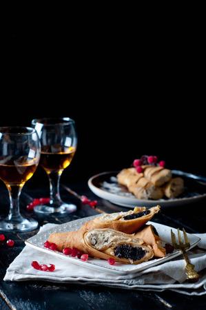 pancake week: Staple of yeast pancakes, traditional for Russian pancake week