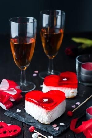 Birthday cake for Valentines Day