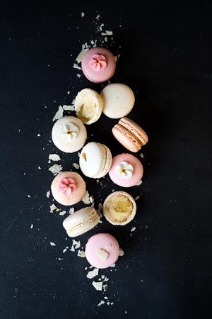 rotates: French pastel macarons