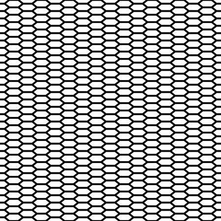 Cage senza soluzione di continuità. Favo. Griglia. Maglia. Moderna trama elegante. Pattern con esagoni lineari. Vector Background.
