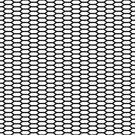 Seamless Cage. Honeycomb. Grill. Mesh. Modern stylish texture. Pattern with linear hexagons. Vector Background.
