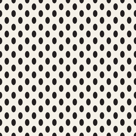 perforation texture: Oval vertical point. Vector seamless pattern. Illustration
