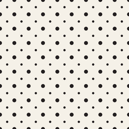 perforation texture: Big and small dots. Vector seamless pattern. Modern stylish texture. Illustration