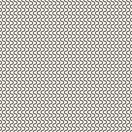 meandering: Seamless texture. Abstract. Black and white pattern. Vector.