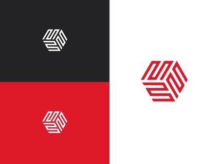 Geometric Logo design template