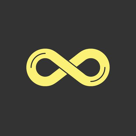 Infinity symbol icon Vector illustration. 向量圖像