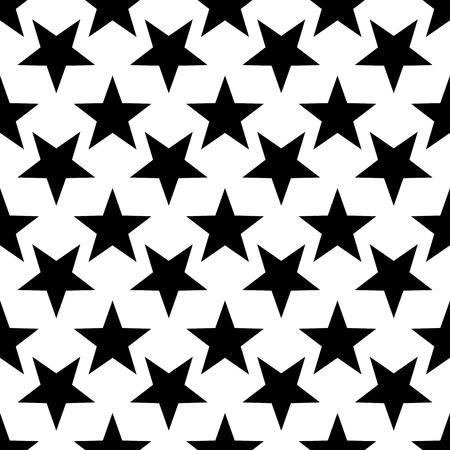 Modern geometric star pattern. Vector star pattern background pattern.