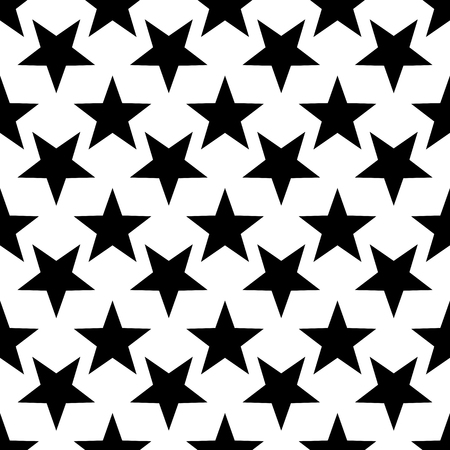 Modern geometric star pattern. Vector star pattern background pattern.