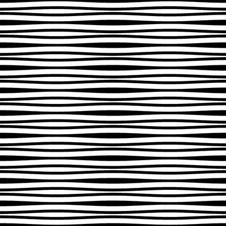 Seamless ripple pattern. Striped minimalistic rippled background.