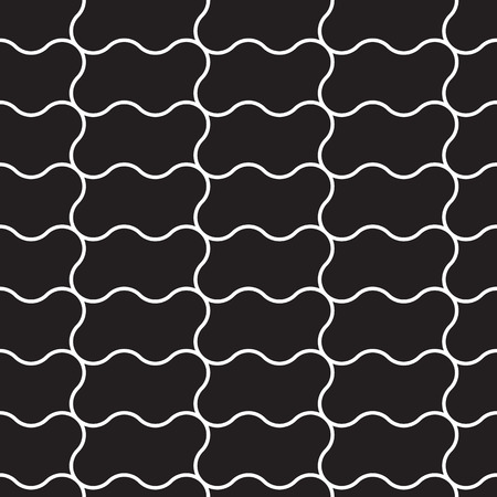 Seamless Cage. Grill. Mesh. Modern stylish texture. Vector Background. Good quality and good design. Black white version