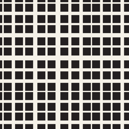 Grid of intersecting lines. Abstract seamless patterns with squares. Vector illustration for your design.