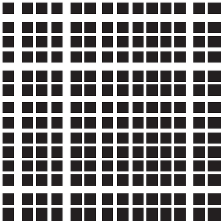 Background of seamless plaid pattern. Horizontal and vertical black bands. Checked, square, plaid vector pattern. Vertical and horizontal crossing stripes.