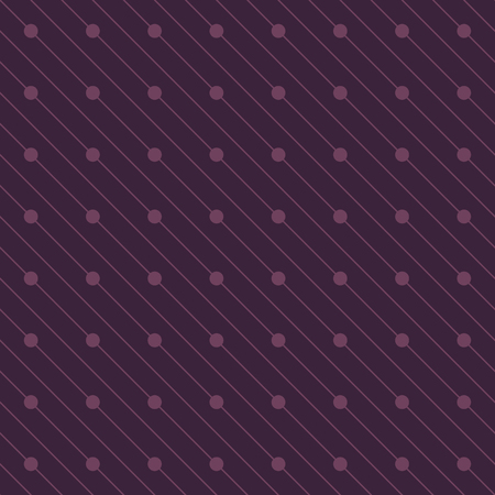Vector seamless pattern. Repeating abstract background with circles. Graphic stripes and circles with diagonal direction.