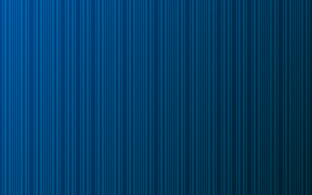 Dark blue gradient background with stripes. Trendy linear banner for landing page. Lines of different thickness. Pattern for web-design. Vector minimalist texture.