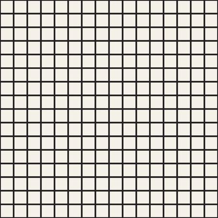 Cuadrícula simple de líneas que se cruzan. Patrones abstractos sin fisuras con cuadrados. Fondo o textura a cuadros del cuadrado blanco del vector. Diseño de tela, papel tapiz.