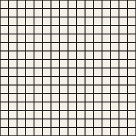 Simple grid of intersecting lines. Abstract seamless patterns with squares. Vector white square checkered background or texture. Cloth design, wallpaper.