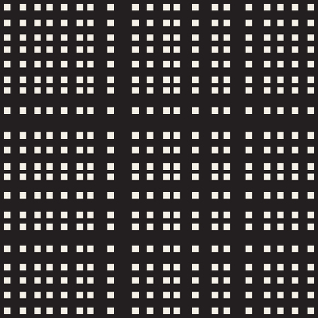 Horizontal and vertical black bands, seamless plaid Vectores