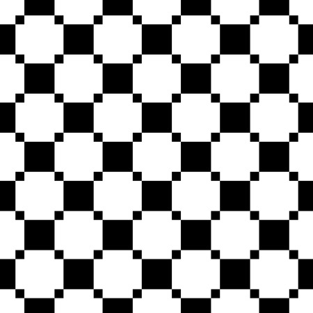 Patrón transparente pequeño cuadrado. Diseño de fondo gráfico de moda. Textura abstracta con estilo moderno. Plantilla monocromática para impresiones, textiles, envoltura, papel tapiz, sitio web, etc. Ilustración vectorial