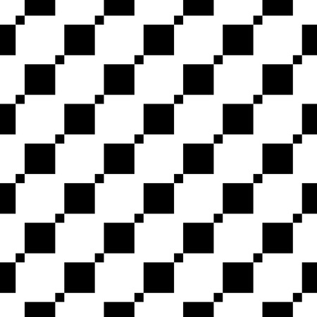 Seamless geometric pattern. Diagonal squares. Vector repeating texture Imagens - 122368618