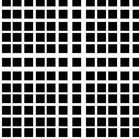 Cuadrícula de líneas que se cruzan. Patrones abstractos sin fisuras con cuadrados