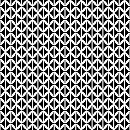 Vector modern seamless pattern. Black and white decorative element. Design template. Background, texture. Strong structure. Pattern suitable for laser cutting, plotter cutting or printing.