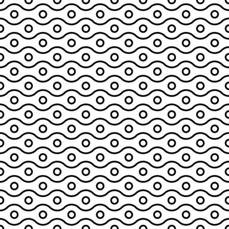 Horizontal arrangement of geometric shapes. Vector illustration 向量圖像
