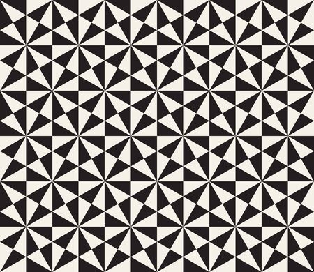 Abstract geometric pattern in black and white