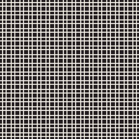 Abstract mosaic grid, mesh background with square shapes. Seamlessly repeatable. Grating, lattice pattern. Black and white design element.Simple vector illustration for your design. Illusztráció