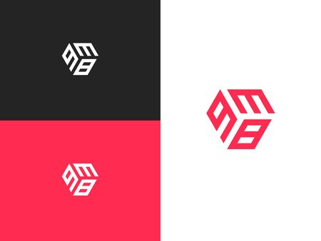 Combined number 938, vector element of the icon template. Set of numbers can be used as a city birthday or as a sports number for competitions. Simple creative geometric sign. Emblem for your design.