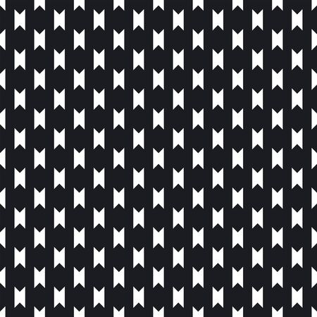 Abstract monochrome background with small angular figures, geometrical elements. Simple repeatable texture. Decorative print for wrapping paper, fabric, textile. Vector geometric seamless pattern. Illustration