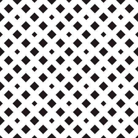 Tile pattern with big and small rhombuses. Repeated diamonds and rhombuses motif. Seamless pattern design for banner, poster, card, postcard, cover, business card. Geometric background. Vector art.